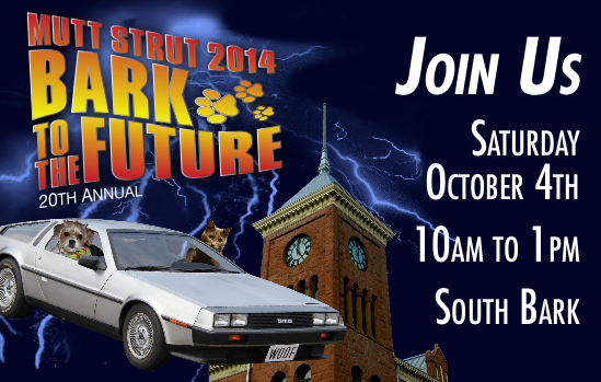 Bark to the Future- Save the Date